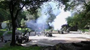 Salvas de Artillería
