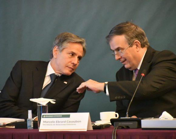Anthony Blinken srio de Estado EU-Marcelo Ebrard-foto @m_ebrard