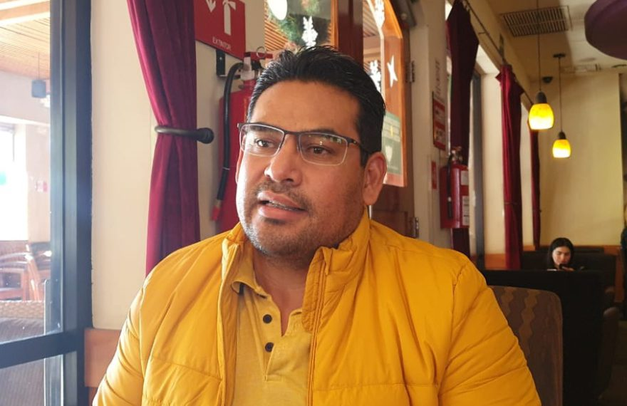 Omar Sarabia Esparza. Foto Jorge Ley